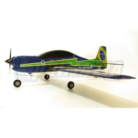 Kit Aeromodelo Tucano Asa Baixa Isopor Depron Cnc A-29 T-27