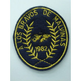 Escudo Bordado Original A Los Bravos De Malvinas 1982