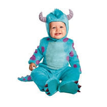 Disfraz Bebe Sulley Niño Niña Halloween Bebes Monster Inc