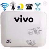Modem Roteador Vivo Box Zte Mf23 3g Wi-fi +nf+garantia