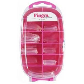 Tips Fingrs Cristal - Para Alongamento De Unhas