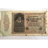 Billete Alemania 5000 Mark 1922 Cuidad Berlin