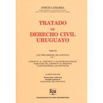 Tratado De Derecho Civil Uruguayo T 8 Gamarra