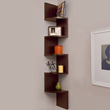 Mueble Moderno Minimalista Esquinero Flotante, Decoración