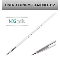 1 Pincel Liner # 000 Economico