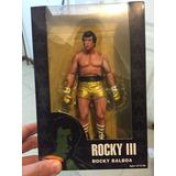 Rocky Balboa 3 Neca Dorado Nuevo Importado 40 Aniversario