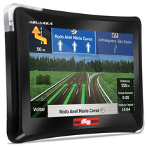 Gps Automotivo Aquarius Quatro Rodas Mp3 Sd Navegador