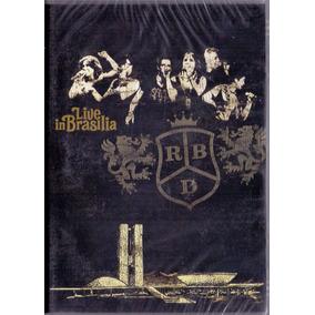 Dvd Rebeldes - Live In Brasilia - Novo***