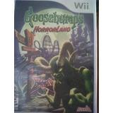 Wii, Goosegumps Horrorland, Seminuevo, Original