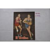 Grafico N 2054 Poster Boca Juniors 1958 Basquet Enriq Borda