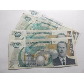 Un Billete N$10 Lazaro Cardenas Condicion Muy Usado