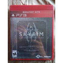 The Elder Of Scroll V Skyrim Legendary Edition Nuevo Ps3