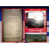 Multimetro Tester Sunma Modelo Yx-1000a Analogico