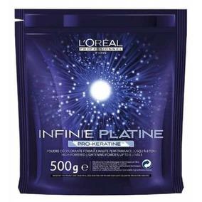 Infinie Platine Pró-queratina Loreal Descolorante 500g