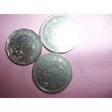 Lote De Tres Monedas Antiguas !!! 123ventas.com.uy
