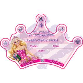 Imagen De Invitacion Barbie Escuela De Princesas - Epvendedo