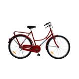 Bicicleta Paseo Tipo Ingles Retro Dama Y Hombre Rod 26