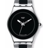 Reloj Swatch Yls168gc Tresor Noir Mujer Original Oficial