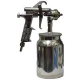 Pistola De Aerografo De Succion Semi-profesional Lince W-71