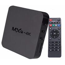 Android Tv Box Mxq 4k Hdmi Netflix Descarga Juegos Peliculas