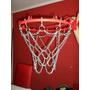 Redes De Basket Hechas De Cadena! Unicas 6 Y 12 Enganches.