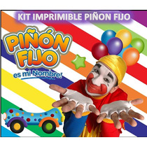 Kit Imprimible Piñon Fijo