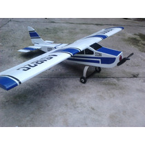 Aeromodelo Aviao Cessna 182 4 Canais