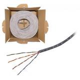 Cable Ethernet 305 Metros Bobina Cable Utp Cab-207 Vorago