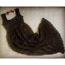 Tejidos Artesanales A Crochet: Maxi Vestido Calado!