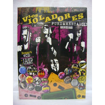 Los Violadores Fundamentales 4cd+dvd+libro Box Nuevo Sellado