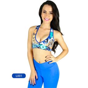 Top Suplex Estampado Nadador Fitness Academia Malhar