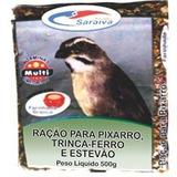 Racao Pixarro Perila Verm. 10x500g-fd