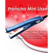 Mini Prancha Profissional Lizze Original 405f Nano Titanio