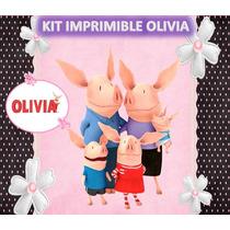 Kit Imprimible Olivia