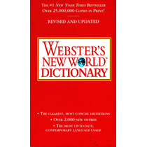 Webster`s New World Dictionary ( Ingles / Ingles )