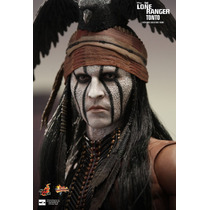 Hot Toys Johnny Depp The Lone Ranger Tonto Filme Cinema Dvd