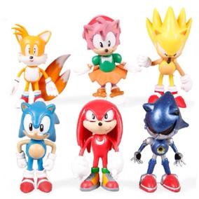 Sonic The Hedgehog Set 6 Figuras