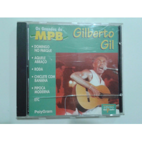 Cd Os Grandes Da Mpb - Gilberto Gil