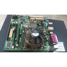 Placa Mãe Intel D945gccr Com Processador E Cooler (0068)