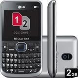 Lg C397 - Dual Chip, Câmera 2mp, Mp3 Player, Cartão 2gb