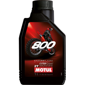 Motul 800 Factory Line 2t - 100% Sintético - Óleo De Motor