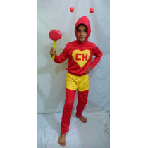 Fantasia Do Chapolim Colorado Infantil Turma Do Chaves