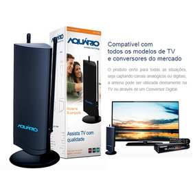 Antena Interna De Multirecepção Tv Hdtv Dtv-4500 Tv Digital