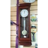Reloj De Pared De Madera Con Péndulo Y Soneria