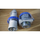 Plug E Tomada Steck 3p+t 63a Azul Newkon 250v