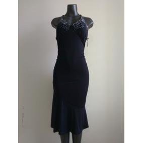 Bello Vestido Dama Casual Largo Fashion De Spandex Mediano