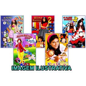 Coleção Aline Barros & Cia 1,2,3,4 + Dvdôke - Frete Grátis