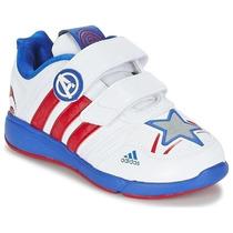 Tenis Marvel Avengers Capitan America Niño Adidas B23894