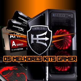 Pc Cpu Gamer Amd A6 7400k 8gb 1tb Radeon R5 230 1gb Wifi