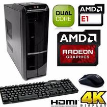 Cpu Computadora Dual Core 4gb 320gb Dvdrw Hd8210 Hdmi Usb3.0